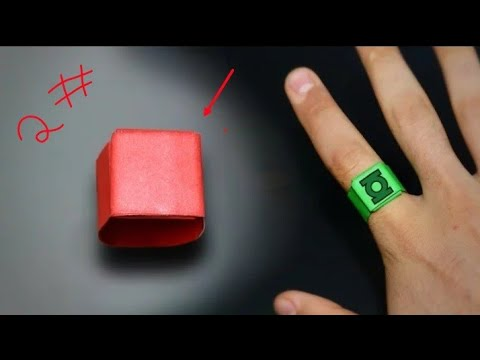 How to make paper ring in Hindi  2#
