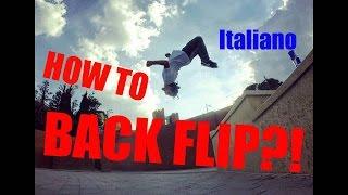 extreme backflip tutorial ita eng
