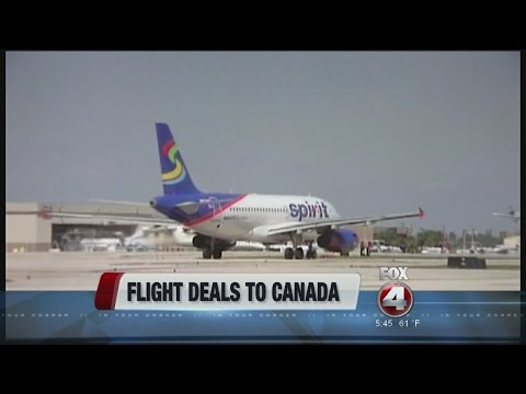 Spirit airlines offers Canada deals