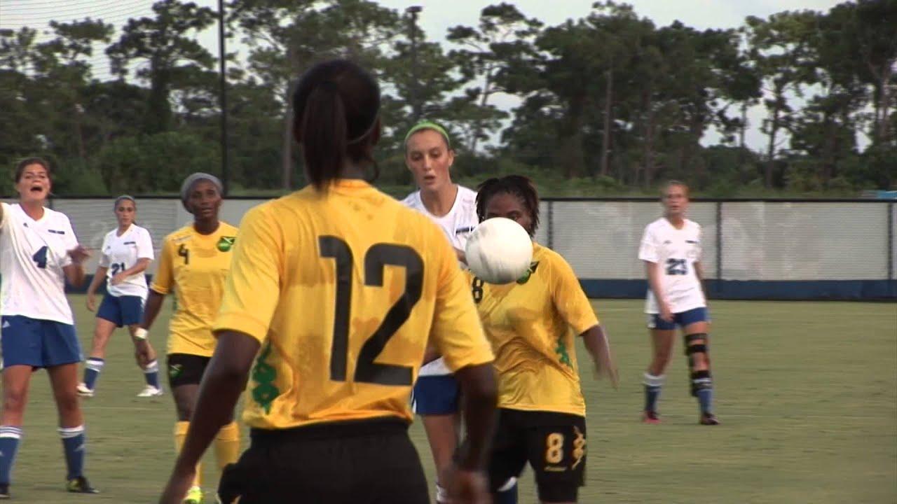 427e3f40f14 Titan Women's Soccer Team Scrimmages Jamaican National Team - YouTube