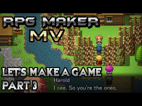 RPG Maker MV: Introducing Plot-Guys! (Let's Make a Game! Pt-3)