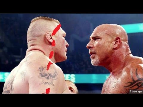 WWE WrestleMania 33 - goldberg vs. brock...