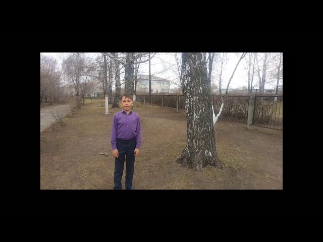 Изображение предпросмотра прочтения – АйратМясаутов читает произведение «Весна» С.А.Есенина