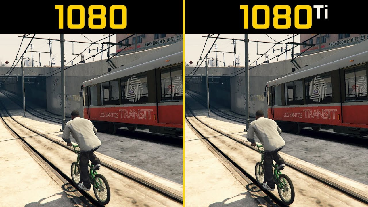 Gta 5 Gtx 1080 Vs Gtx 1080 Ti 1440p Youtube