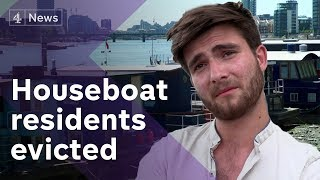 Houseboat owners fight for their rights