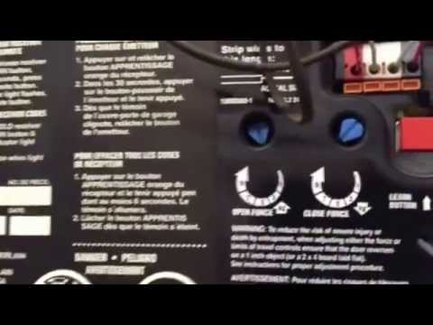 Camberlan Liftmaster Professional 13 hp problem Garage
