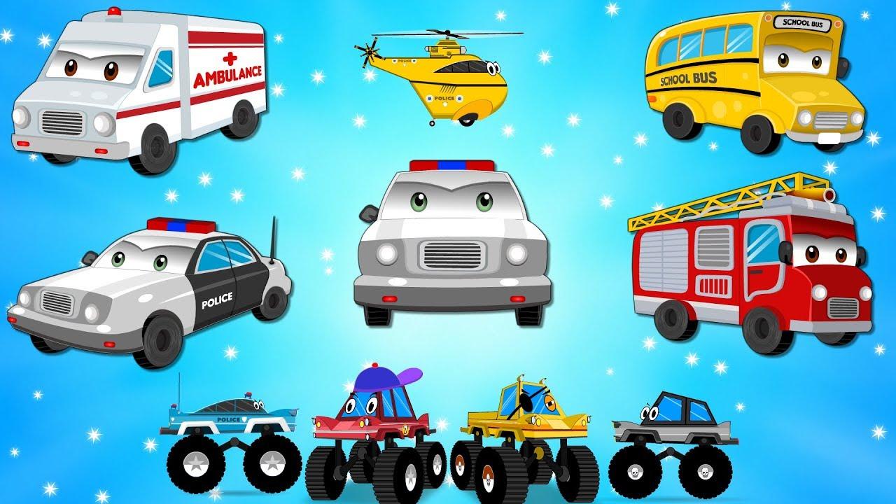 Street Vehicles   Car Wash Videos - Nursery Rhymes Plus ...