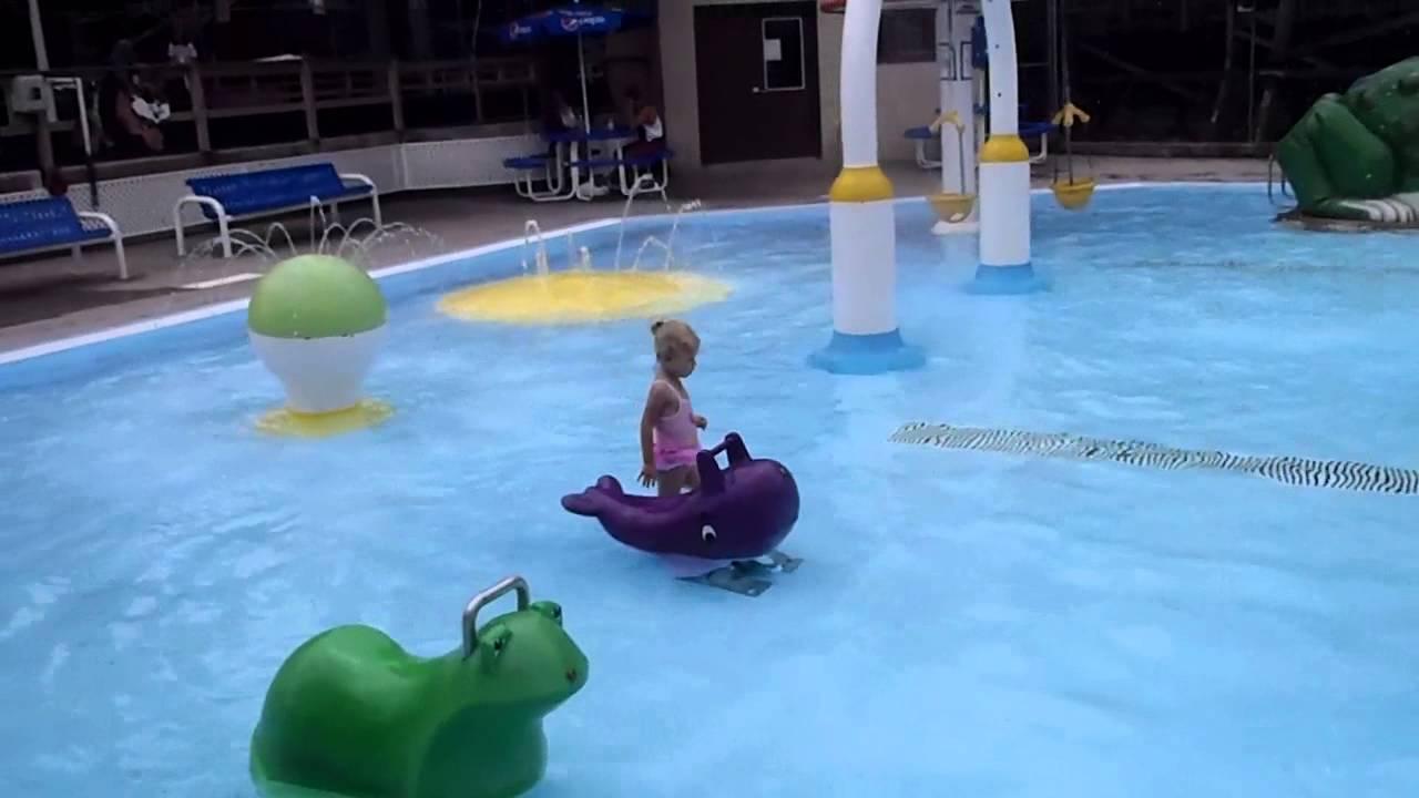 Crystal pool kiddie pool youtube for Pool design mistakes