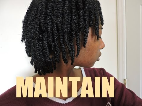 How To: Maintain Two-Strand Twist on Natural Hair | Svblewan