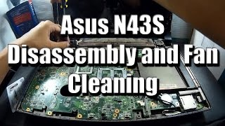 Video [Take Apart] Asus N43S Disassembly and Fan Cleaning download MP3, 3GP, MP4, WEBM, AVI, FLV Oktober 2018