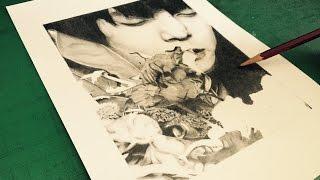 俳優として活躍する窪田正孝さんを鉛筆で描きました。 【twitter】https...