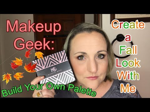 Fall Makeup Look Using Makeup Geek Eyeshadows. First look at my customized palette. GRWM thumbnail