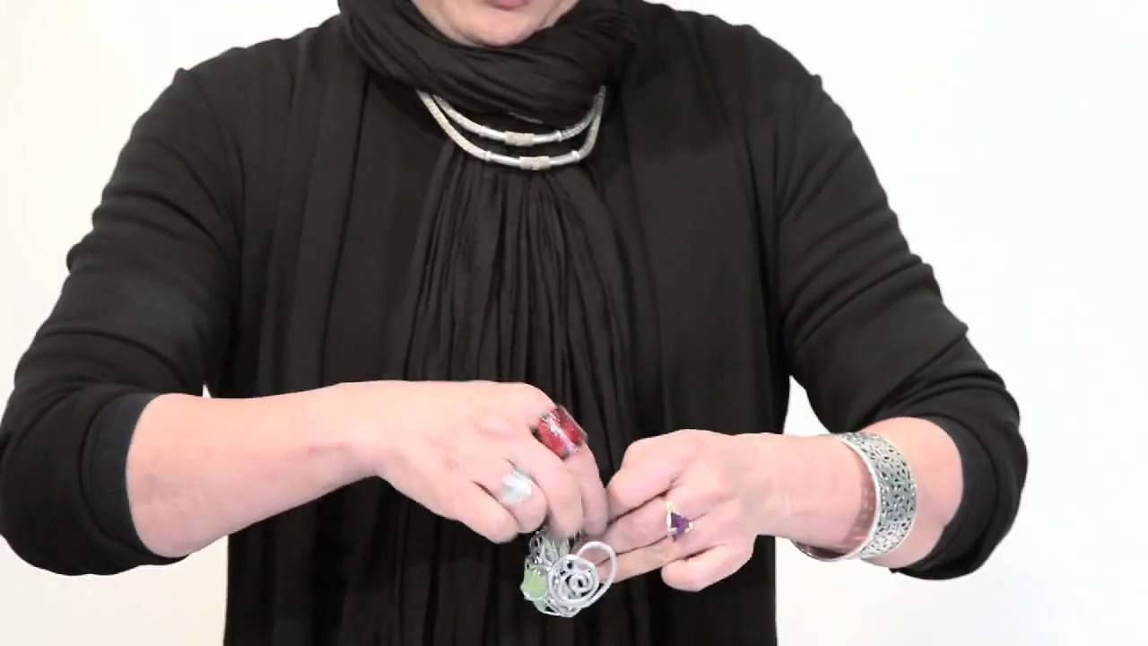 T2: Aluminum wire jewelry - YouTube