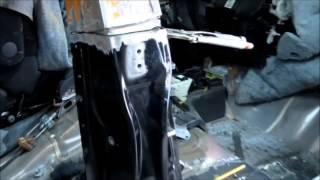 Honda Fit Ремонт правой части кузова