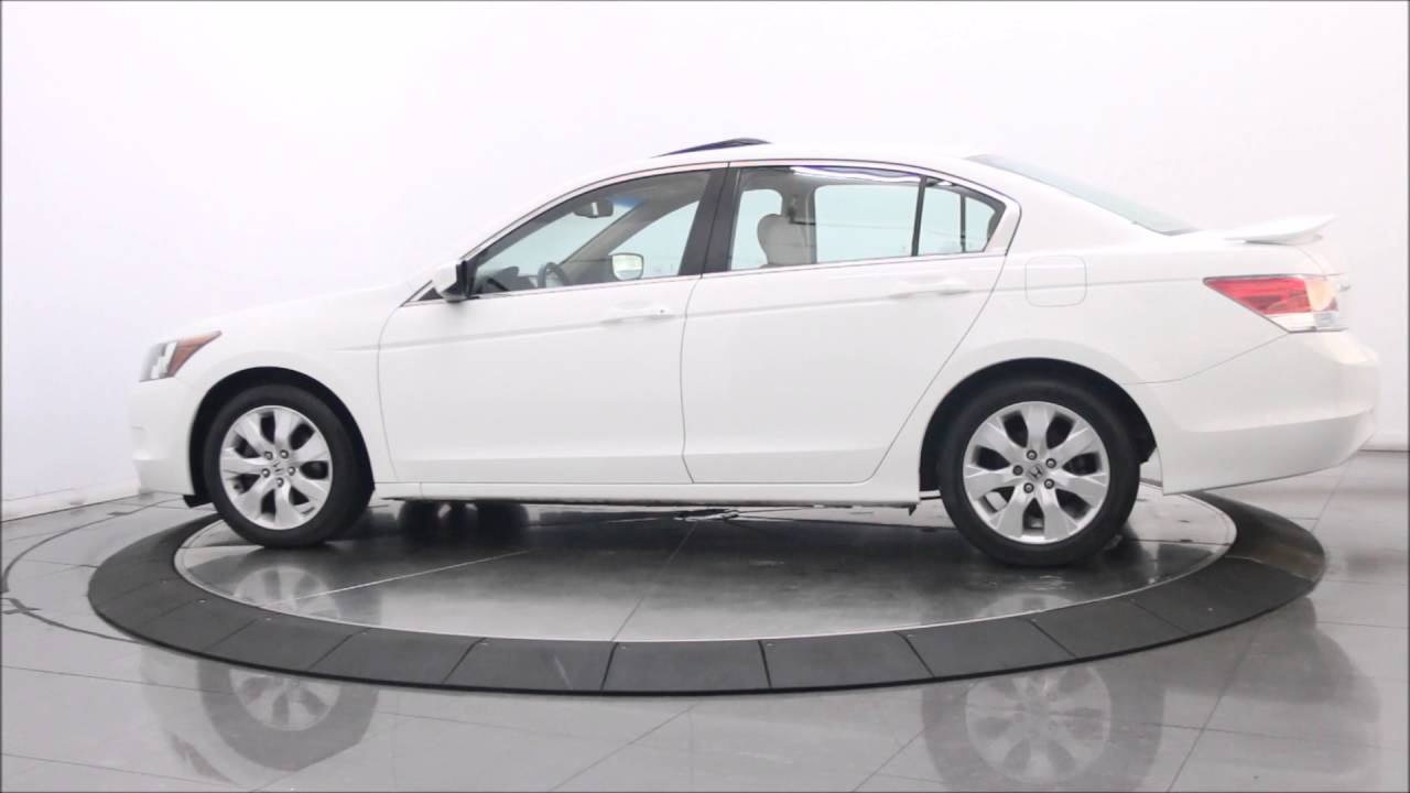 2010 HONDA ACCORD EX L SPORT SEDAN