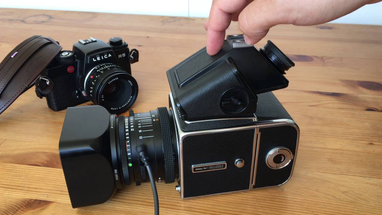 Using the Hasselblad 500 C/M with off Camera Flash and 120 Film Developing