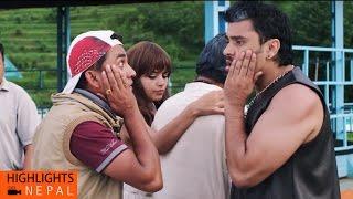 Nita Dhungana Slapped Her Ex-Boyfriend   Nepali Comedy Movie Chha Ekan Chha   Nita Dhungana