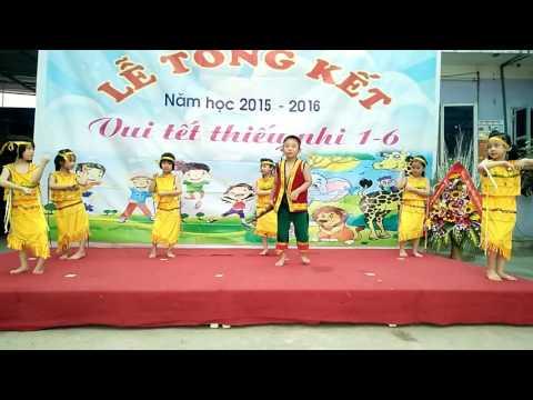 Trường mầm non Bình Tâm múa: Chiều lên bản thượng