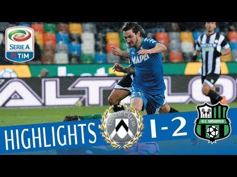 Udinese - Sassuolo 1-2 - Highlights - Giornata 29 - Serie A TIM 2017/18
