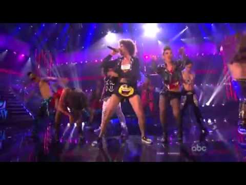 LMFAO Ft justin bieber Party Rock anthem (AMA'S 2011