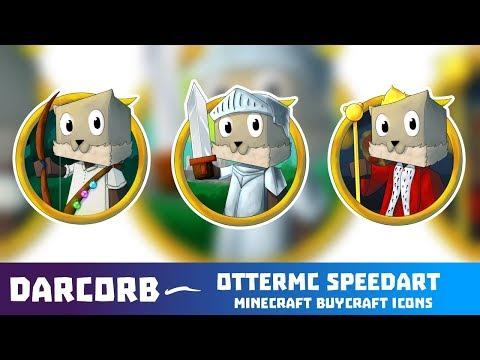 Minecraft Icon Set Speedart - OtterMC Buycraft Icons