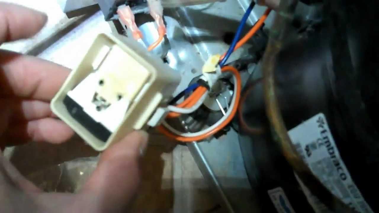 Fixing a Refrigerator Compressor that Won't Start, Compressor Relay, Condenser Fan Motor  YouTube