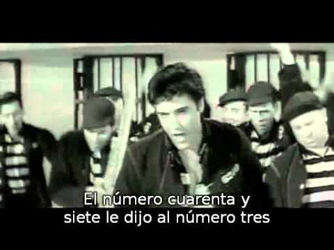 Elvis Presley  Jailhouse Rock  1957  subtitulada