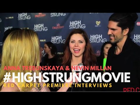 "Anna Trebunskaya #DWTS at the Red Carpet Premiere for ""High Strung"" #‎HighStrungMovie"