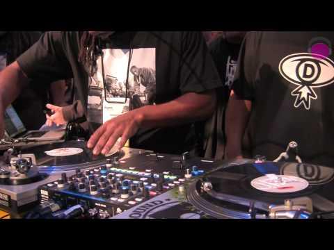 Beat Junkies 20th Anniversary & Performance at RANE   agiprodj.com - NAMM 2012