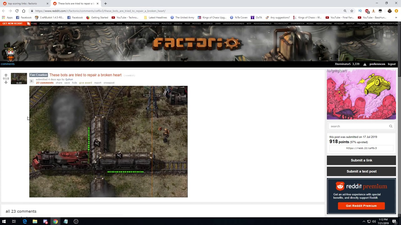 Factorio Reddit Weekly Discussion EP62 - News, Inspiration & Thoughts