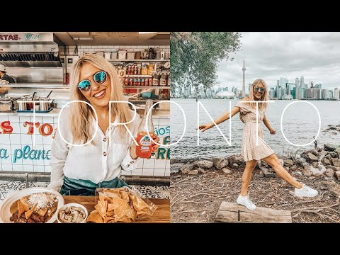 Toronto + Niagara Falls Vlog - CN Tower, Distillery District, Toronto Islands, St Lawrence Market