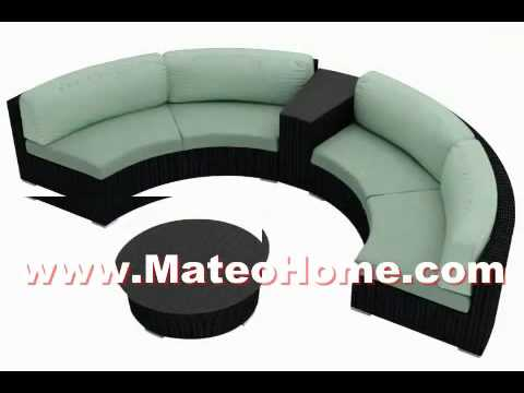 Curved Sectional Sofa Furniture Ideas For Small Spaces YouTube - Curved sectional sofas small spaces