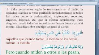 Hadith le hermandad español.
