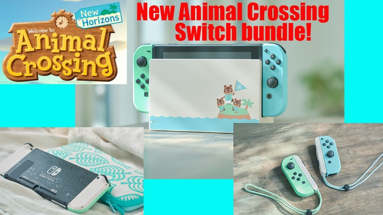 New Animal Crossing New Horizons Switch Bundle Coming Youtube