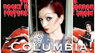 Columbia Rocky Horror Picture Show Halloween Hair & Makeup Tutorial by CHERRY DOLLFACE Thumbnail