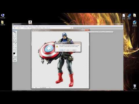 Как убрать белый фон с картинки фото изображения документа через Photoshop