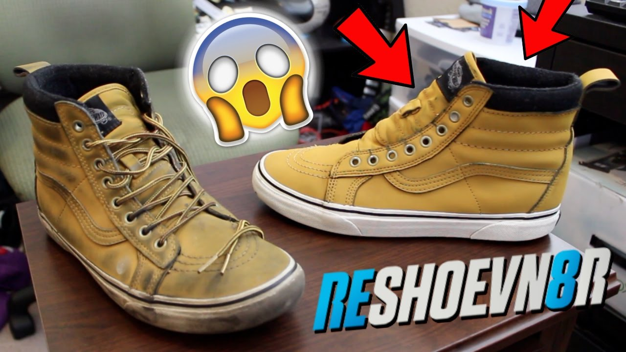 How To Clean Work Boots Tutorial! Using Reshoevn8r!