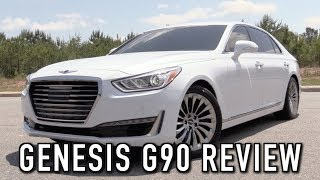 2018 Genesis G90 5.0 Ultimate Start Up, Test Drive In Depth Review