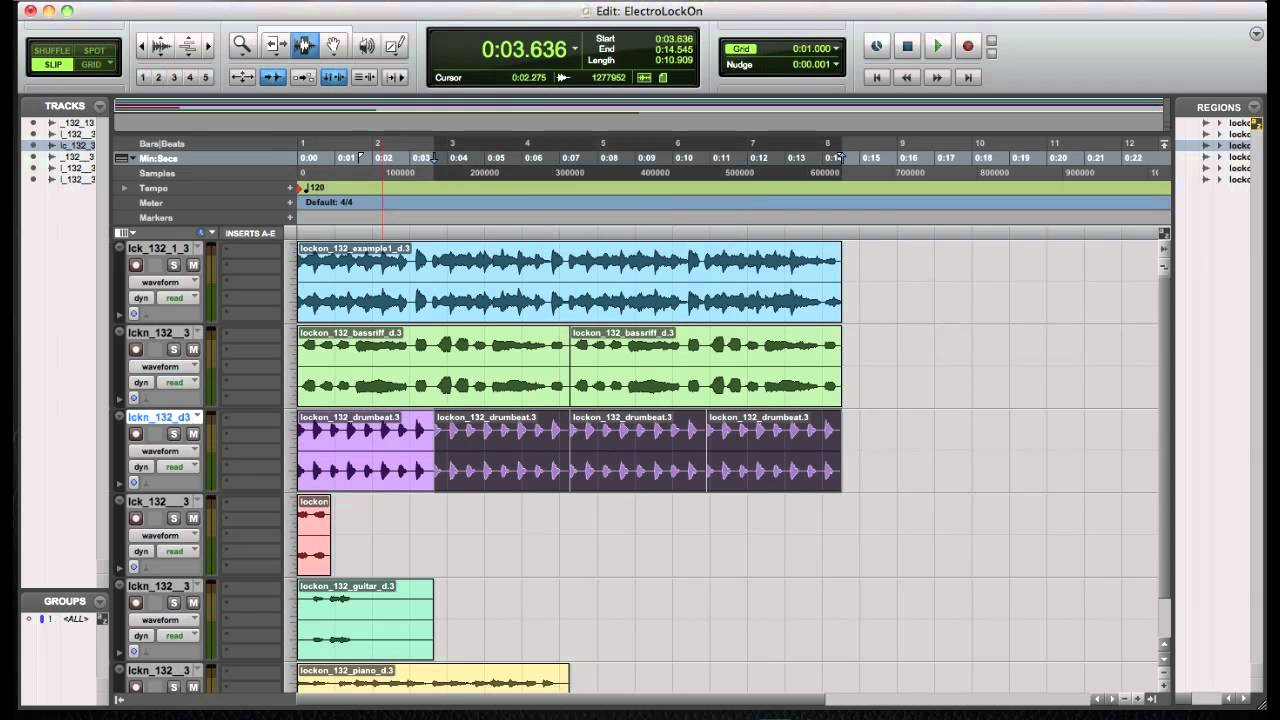 How to make electro house music fast and easy in protools for Fast house music