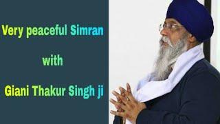 Very Peaceful Simran with Giani Thakur Singh ji (Damdami Taksaal)