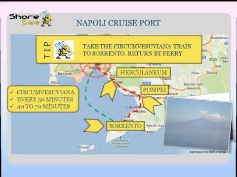 The Naples cruise port
