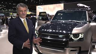 Gambar cover New 2020 Land Rover Defender at the 2019 LA Auto Show - Sir Ralf Speth, CEO, Jaguar Land Rover