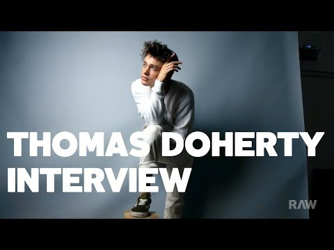 Thomas Doherty Gives His Best Dove Cameron Impression & Talks Growing Up Scottish