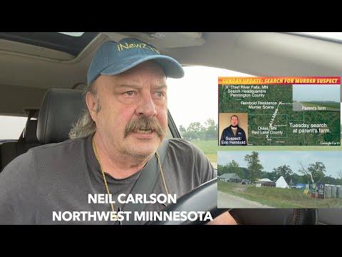 SUNDAY UPDATE: Pipeline Protestors & Search For Murder Suspect In Northwest Minnesota