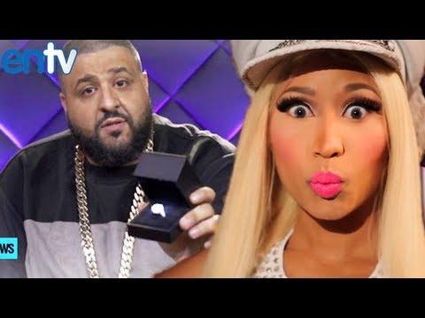 DJ Khaled Proposes To Nicki Minaj on MTV!