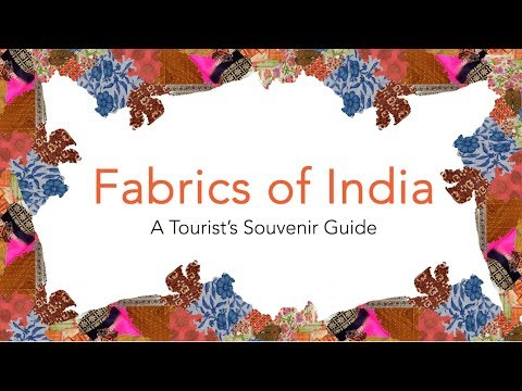 Fabrics Of India - A Colorful Jounrney Of Indian Indigenous Fabrics