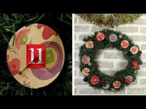 14 Easy DIY Advent Calendars and Christmas Crafts