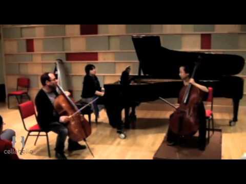 Gary Hoffman Master Class: Schumann Concerto
