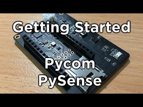 Pycom Pysense Getting Started Guide