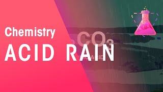 Acid rain | Chemistry for All | The Fuse School